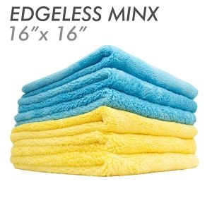 3x MINX Coral Fleece Edgeless Gold 41 х 41см