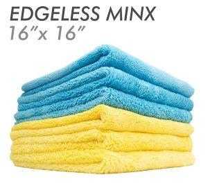 3x MINX Coral Fleece Edgeless Gold 41 х 41см